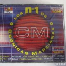 CDs de Música: TRIPLE CD LOS Nº1 DE CRONICAS MARCIANAS TELECINCO. Lote 244675690