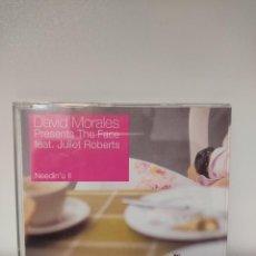 CDs de Música: DAVID MORALES PRESENTS THE FACE FEATURING JULIET ROBERTS - MAXI CD HOUSE. Lote 244695195