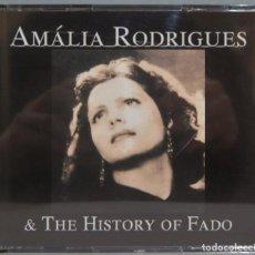 CDs de Música: CAJA CD. AMALIA RODRIGUES & THE HISTORY OF FADO. Lote 244695930