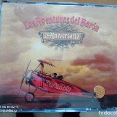 CDs de Música: BARON ROJO LAS AVENTURAS DEL BARON 2XCDS+DVD CAJA CON LIBRETO. Lote 244698870