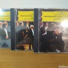 CDs de Música: BEETHOVEN - BERNSTEIN - ZIMMERMANN. Lote 244712835