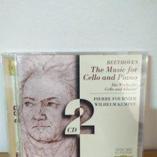 CDs de Música: BEETHOVEN - CELLO & PIANO. Lote 244713190