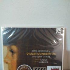 CDs de Música: BEETHOVEN - BERG - VIOLÍN CONCERTO. Lote 244713920