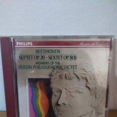 CDs de Música: BEETHOVEN - SEPTETO. Lote 244714490