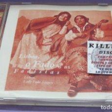 CDs de Música: LISBOA , O FADO E AS FADISTAS - CD. Lote 244720785