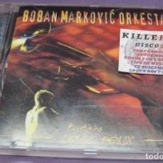 CDs de Música: BOBAN MARKOVIC ORKESTAR FEATURING LAJKO FÉLIX - CD. Lote 244721655