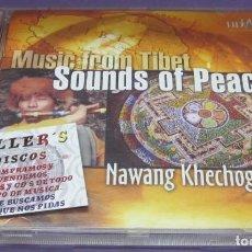 CDs de Música: MUSIC FROM TIBET SOUNDS OF PEACE - NAWANG KHECHOG - CD. Lote 244721865
