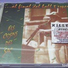 CDs de Música: ELS COSINS DEL SAC - ALFINAL DEL BALL T'ESPERO - CD. Lote 244725130