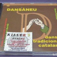 CDs de Música: DANSÁNEU - 17 DANSES TRADICIONALS CATALANES - CD. Lote 244725910