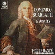 CDs de Música: DOMENICO SCARLATTI 22 SONATTES. Lote 244727800