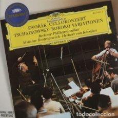 CDs de Música: DEVORÁK-CELLOKONZERT TSCHAIKOWSKY-ROKOKO-VARIATIONEN. Lote 244727980