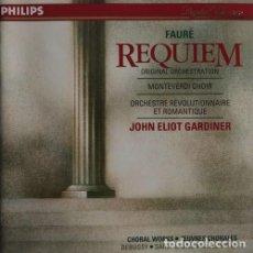 CDs de Música: FAURÉ REQUIEM. Lote 244728235