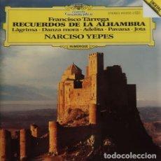 CDs de Música: FRANCISCO TÁRREGA RECUERDOS DE LA ALHAMBRA. Lote 244728465