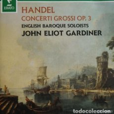 CDs de Música: HANDEL CONCERTI GROSSI OP. 3. Lote 244729030