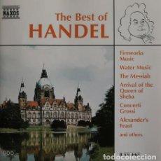 CDs de Música: THE BEST OF HANDEL. Lote 244729280