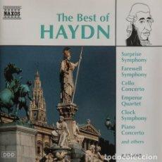 CDs de Música: THE BEST HAYDN. Lote 244729785