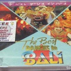 CDs de Música: THE BEST DANCES IN BALI - CD. Lote 244730280