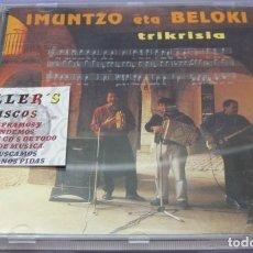 CDs de Música: IMUNTZO ETA BELOKI - TRIKRISIA - CD. Lote 244734095