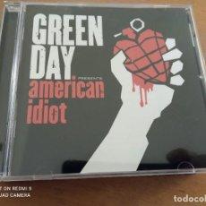 CDs de Música: GREEN DAY AMERICAN IDIOT CD. Lote 244737165