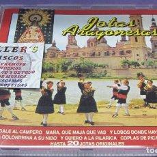 CDs de Música: JOTAS ARAGONESAS - 20 JOTAS ORIGINALES - CD. Lote 244740980