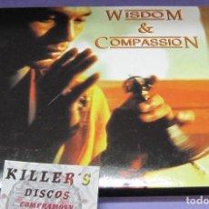 CDs de Música: WISDOM & COMPASSION - CD DIGIPACK. Lote 244742855