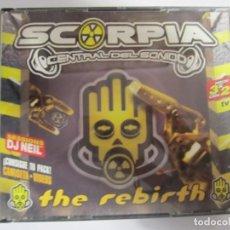 CDs de Música: TRIPLE CD SCORPIA CENTRAL DEL SONIDO THE REBIRT DJ NEIL. Lote 244744320