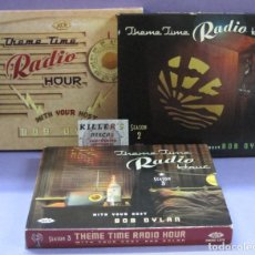 CDs de Música: THEME TIME RADIO HOUR WITH YOUR HOST BOB DYLAN - SEASON 1, 2 & 3 - 3 CDS DOBLES CON LIBRETO. Lote 244744545