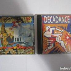 CDs de Música: LOTE 2 CD DECADANCE'80 VOL 2 Y 3. Lote 244750225