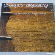 CDs de Música: GEORGES BRASSENS, LES AMOUREUX DES BANES PUBLIES, 2001. Lote 244816310