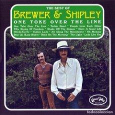 CDs de Música: BREWER & SHIPLEY - ONE TOKE OVER THE LINE (CD, ROCK). Lote 244818820