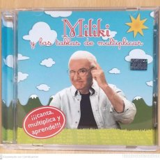 CDs de Música: MILIKI (MILIKI Y LAS TABLAS DE MULTIPLICAR) CD 2005. Lote 244827160