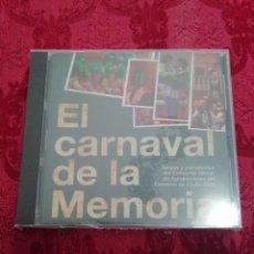 CDs de Música: CARNAVAL DE CÁDIZ CD EL CARNAVAL DE LA MEMORIA 2009 NUEVO CON PRECINTO. Lote 244828045