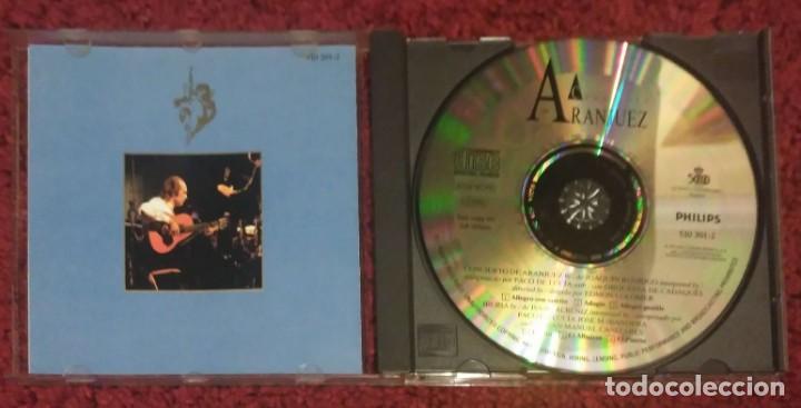CDs de Música: CONCIERTO DE ARANJUEZ (PACO DE LUCIA & JOAQUIN RODRIGO) CD 1991 - Foto 3 - 244842545