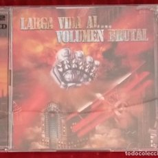 CDs de Música: BARON ROJO LARGA VIDA AL VOLUMEN BRUTAL TRIBUTO A BARON ROJO DOBLE CD. Lote 244844635