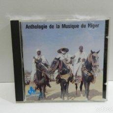 CDs de Música: DISCO CD. ANTHOLOGIE DE LA MUSIQUE DU NIGER. COMPACT DISC.. Lote 244858130