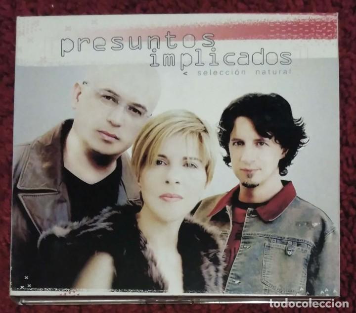 PRESUNTOS IMPLICADOS (SELECCION NATURAL) 2 CD'S + DVD 2002 (Música - CD's Pop)