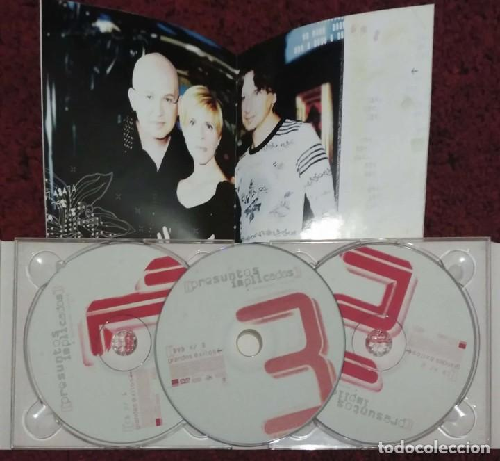 CDs de Música: PRESUNTOS IMPLICADOS (SELECCION NATURAL) 2 CDs + DVD 2002 - Foto 3 - 244868620