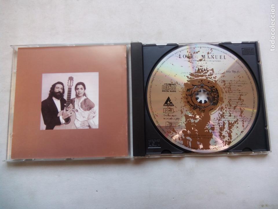 CDs de Música: LOLE Y MANUEL CON LA ORQUESTA SINFÓNICA DE LONDRES CANTAN A MANUEL DE FALLA. CD 513705-2 ESPAÑA 1992 - Foto 2 - 244869815