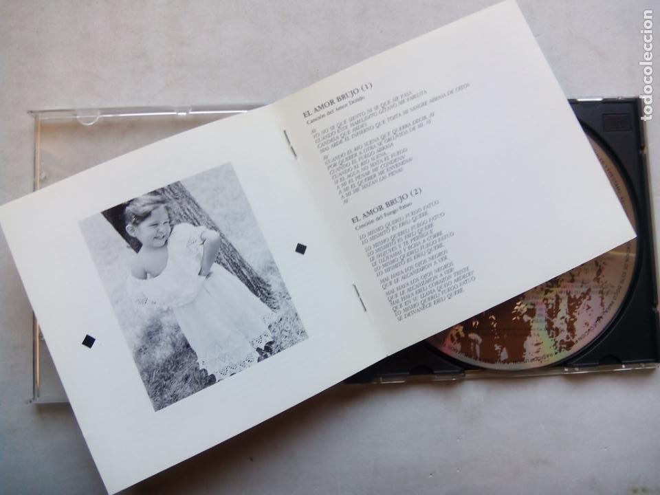 CDs de Música: LOLE Y MANUEL CON LA ORQUESTA SINFÓNICA DE LONDRES CANTAN A MANUEL DE FALLA. CD 513705-2 ESPAÑA 1992 - Foto 3 - 244869815