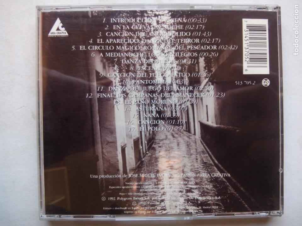 CDs de Música: LOLE Y MANUEL CON LA ORQUESTA SINFÓNICA DE LONDRES CANTAN A MANUEL DE FALLA. CD 513705-2 ESPAÑA 1992 - Foto 4 - 244869815