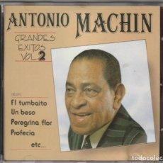 CDs de Música: ANTONIO MACHIN - GRANDES EXITOS VOL.2 (CD DOBLON 1992). Lote 244873780