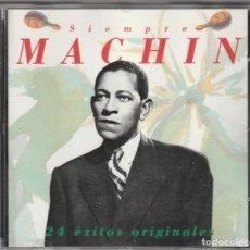 CDs de Música: ANTONIO MACHIN - 24 EXITOS ORIGINALES (CD BMG-ARIOLA 1990). Lote 244874010