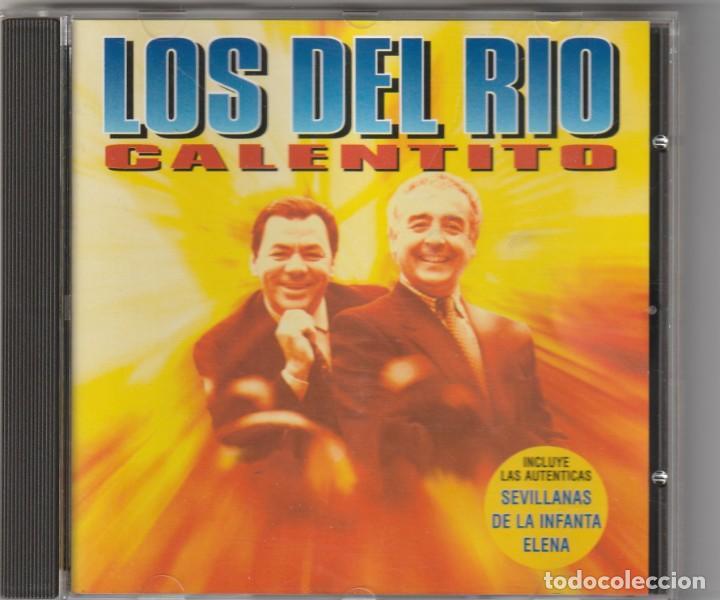 LOS DEL RIO - CALENTITO (CD ZAFIRO 1995) (Música - CD's Flamenco, Canción española y Cuplé)