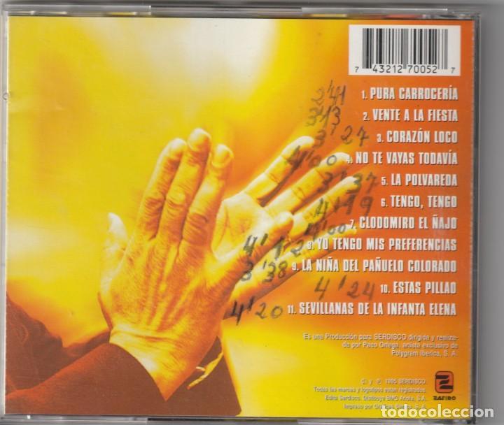 CDs de Música: LOS DEL RIO - CALENTITO (CD ZAFIRO 1995) - Foto 2 - 244874440