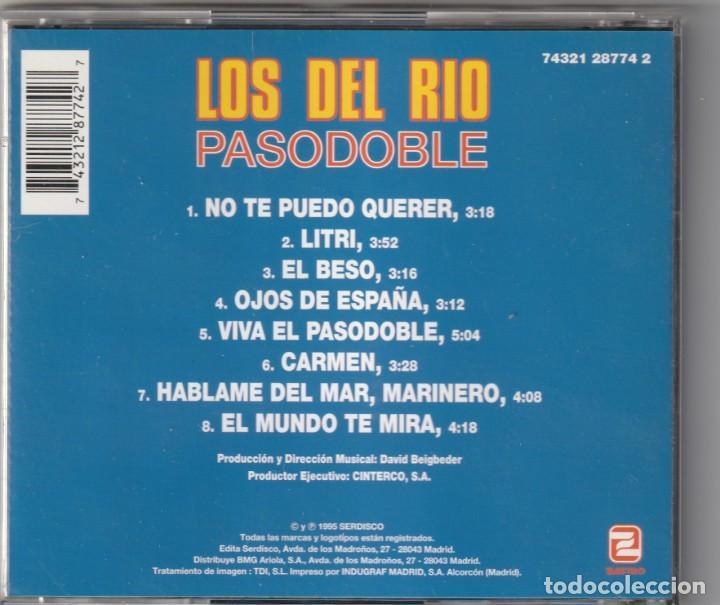 CDs de Música: LOS DEL RIO - PASODOBLE (CD ZAFIRO 1995) - Foto 2 - 244875300