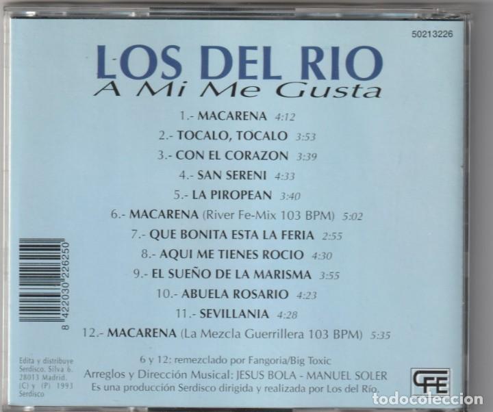 CDs de Música: LOS DEL RIO - A MI ME GUSTA (CD CFE 1993) - Foto 2 - 244875505