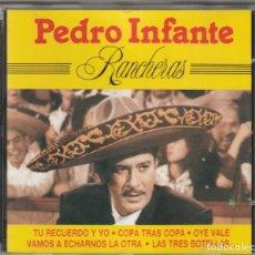 CDs de Música: PEDRO INFANTE - RANCHERAS (CD PERFIL 1990). Lote 244881590