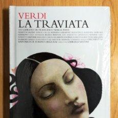 CDs de Música: LIBRO CD VERDI LA TRAVIATA LOS CLASICOS DE LA OPERA 400 AÑOS EL PAIS PRECINTADO. Lote 244906435