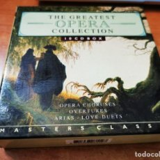 CDs de Música: THE GREATEST OPERA COLLECTION CAJA BOX SET 10 CD BOX CAJA CLS 3807112 HOLANDA. Lote 244908295