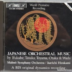 CDs de Música: CD. JAPANESE ORCHESTRAL MUSIC. Lote 244926335